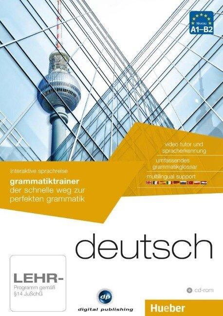 interaktive sprachreise grammatiktrainer deutsch -