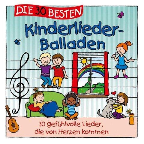 Die 30 besten Kinderlieder-Balladen - S. Sommerland, K. & Kita-Frösche Glück