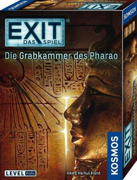 Exit - Die Grabkammer des Pharao - Inka Brand, Markus Brand