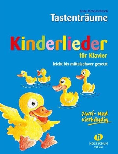 Kinderlieder für Klavier - Anne Terzibaschitsch