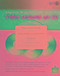 Video Lectures on CD for College Algebra and Trigonometry and Precalculus - Margaret L. Lial, John Hornsby, David I. Schneider