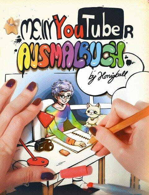 Mein YouTuber Ausmalbuch -