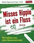 Misses Hippie ist ein Fluss 2018 - Christine Schlitt