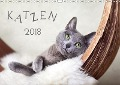 Katzen 2018 (Wandkalender 2018 DIN A3 quer) - Nailia Schwarz
