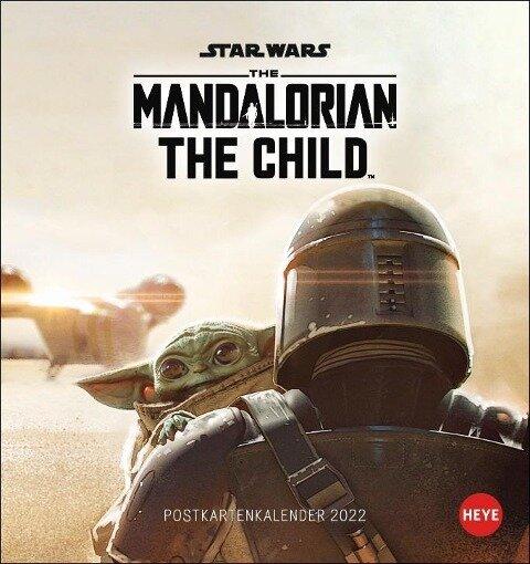 The Mandalorian Postkartenkalender 2022 -