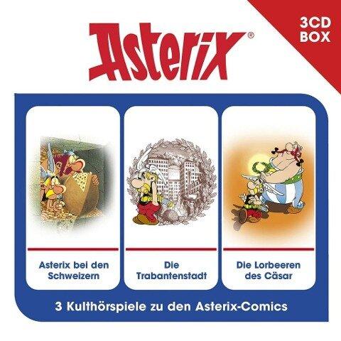 Asterix - 3-CD Hörspielbox Vol. 6 - Asterix
