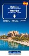Straßenkarte Mallorca / Ibiza, Menorca, Formentera 1:150 000 -