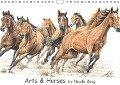 Arts & Horses (Wandkalender 2017 DIN A4 quer) - Nicole Zeug
