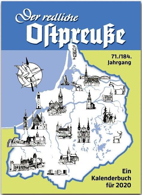 Der redliche Ostpreuße - Ein Kalenderbuch für 2020 -