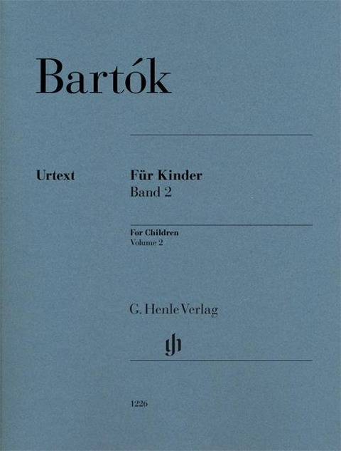 Für Kinder (rev. 1946) Bd. 2 - Béla Bartók
