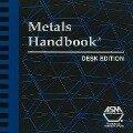 Metals Handbook Desk Edition (CD-Rom) -