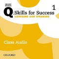 Q: Skills for Success: Level 1. Listening & Speaking Class Audio CD -