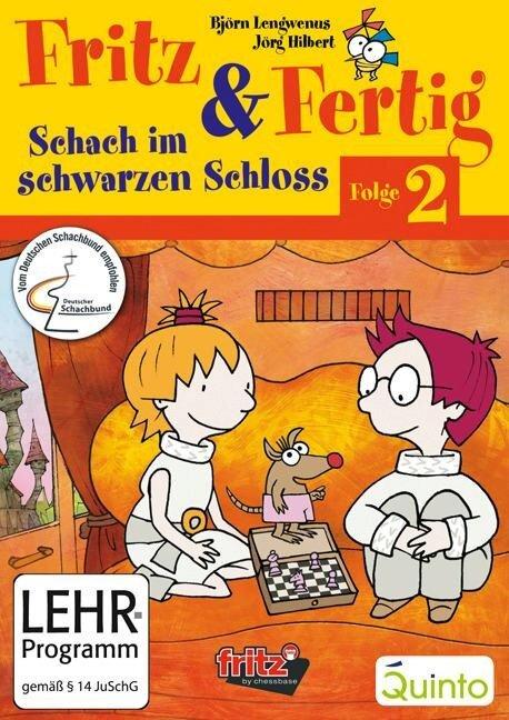 Fritz und Fertig Folge 2 - Schach im schwarzen Schloß - Jörg Hilbert