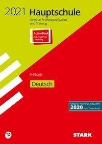 STARK Original-Prüfungen und Training Hauptschule 2021 - Deutsch - Hessen -