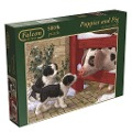 Falcon - Puppies and Piglet - Puzzle 500 Teile -