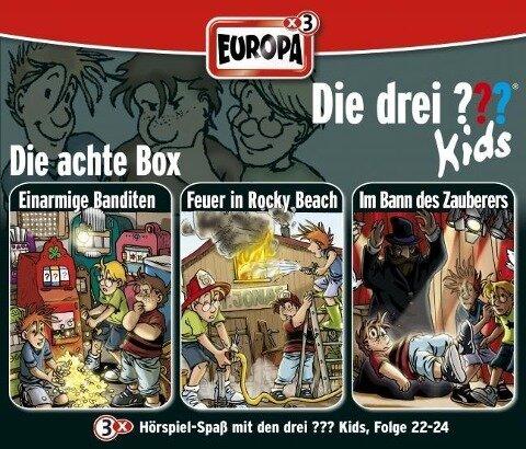 Die drei ??? Kids 3er Box. Folgen 22 - 24 (drei Fragezeichen) 3 CDs -