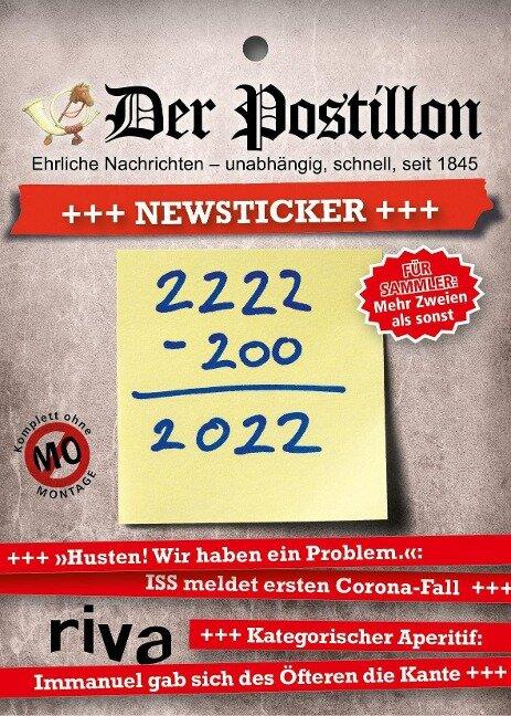 Der Postillon +++ Newsticker +++ 2022 - Stefan Sichermann