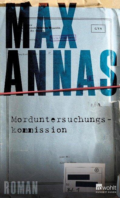 Morduntersuchungskommission - Max Annas