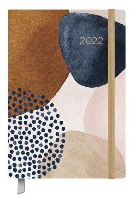 Terminkalender Campus Art Abstrakt 18 Monate 2022/2023 -