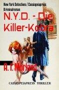N.Y.D. - Die Killer-Kobra - A. F. Morland