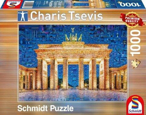 Berlin - Puzzle Charis Tsevis 1000 Teile -