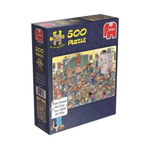 Jan van Haasteren - Fang die Maus - 500 Teile mit Poster -