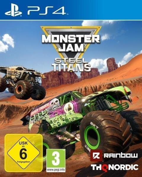 Monster Jam Steel Titans (PlayStation PS4) -
