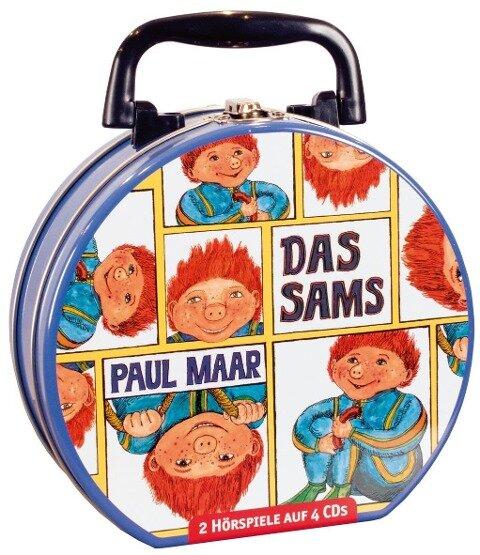 Das Sams - Mein Hörbuch-Koffer (4 CD) - Paul Maar