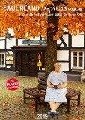 Sauerland Impressionen (Wandkalender 2019 DIN A2 hoch) - Heidi Bücker