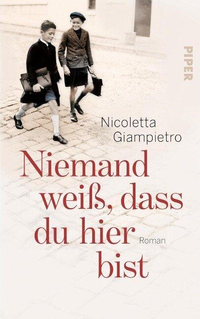 Niemand weiß, dass du hier bist - Nicoletta Giampietro