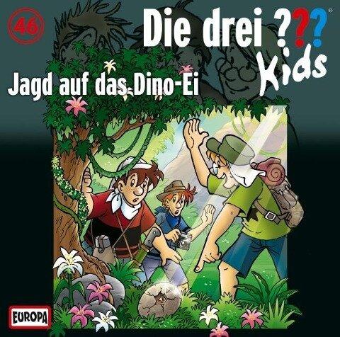 Die drei ??? Kids 46. Jagd auf das Dino-Ei (drei Fragezeichen) CD -