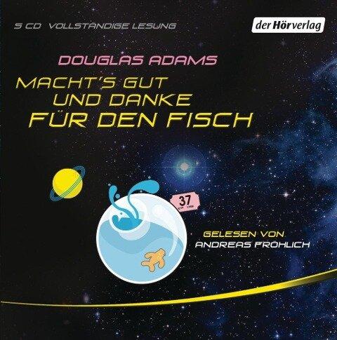 Macht's gut, und danke für den Fisch - Douglas Adams