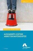 Aushangpflichtige Arbeitsschutzgesetze - Rainer Huke, Christian Lepping