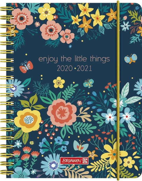 BRUNNEN 1071850141 Wochenkalender/Schülerkalender 2020/2021 Little Things -