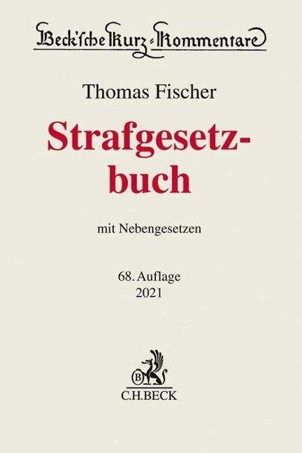 Strafgesetzbuch - Thomas Fischer
