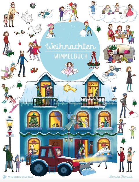 Wimmelbuch Weihnachten -