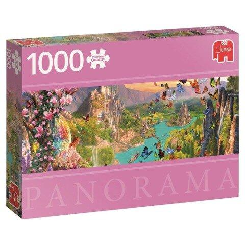 Das Land der Elfen - 1000 Teile Panorama Puzzle -