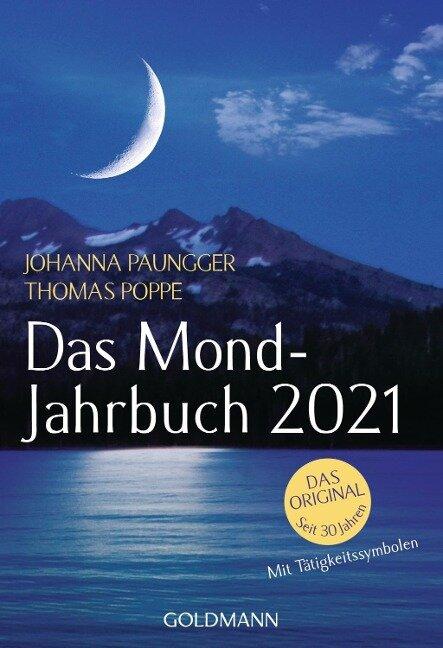 Das Mond-Jahrbuch 2021 - Johanna Paungger, Thomas Poppe