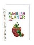 Die kleine Raupe Nimmersatt Familienplaner-Buch A5 - Kalender 2019 -