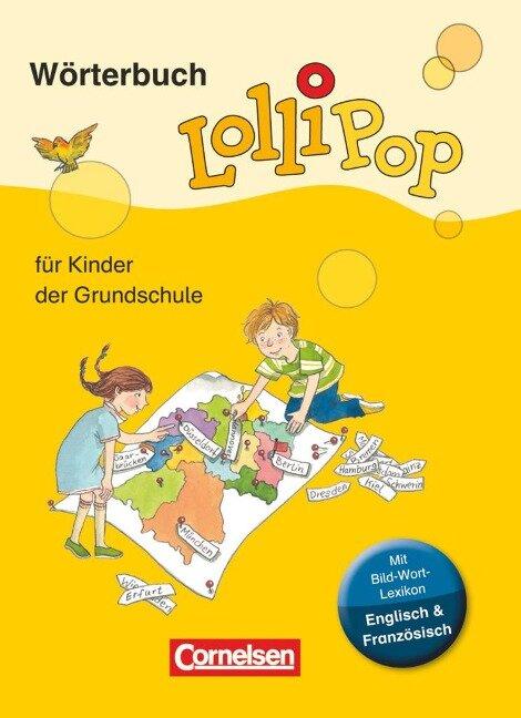 LolliPop Wörterbuch mit Bild-Wort-Lexikon Englisch, Französisch - Gerhard Sennlaub