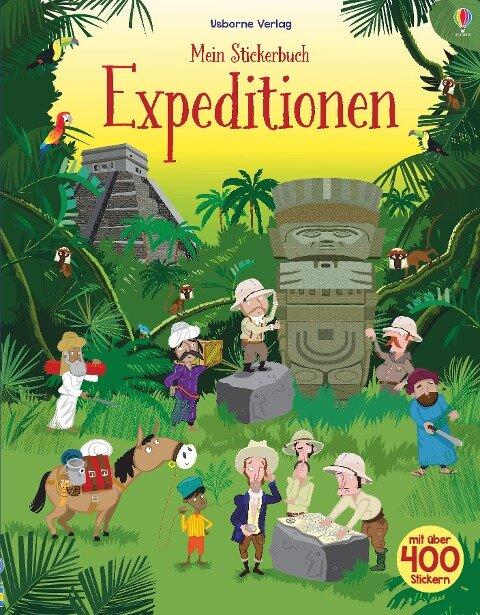 Mein Stickerbuch: Expeditionen - Fiona Watt