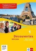 Découvertes Série jaune 1. Cahier d'activités mit MP3-CD und Video-DVD -