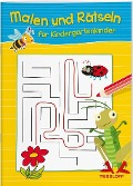 Malen und Rätseln für Kindergartenkinder -
