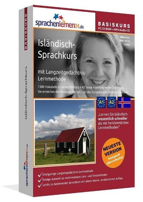Sprachenlernen24.de Isländisch-Basis-Sprachkurs. CD-ROM -