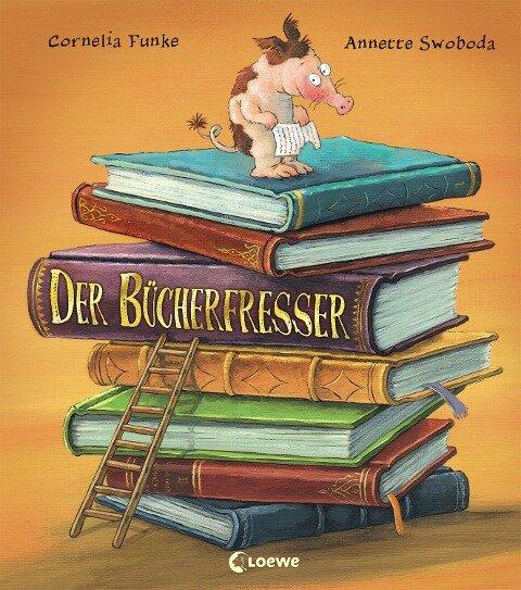 Der Bücherfresser - Cornelia Funke