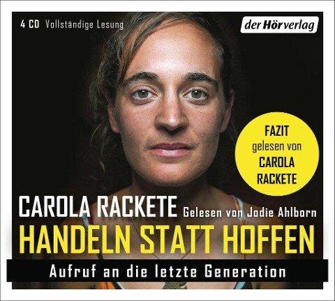 Handeln statt Hoffen - Carola Rackete