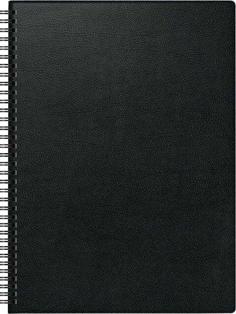 Brunnen Buchkalender 2019, Modell 781 schwarz A4 -