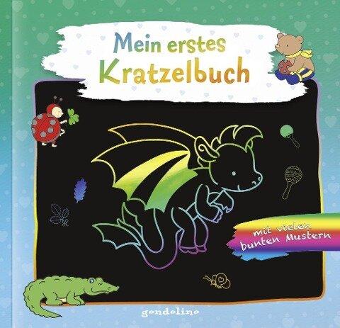 Mein erstes Kratzelbuch Drache. gondolino Kratzelwelt -