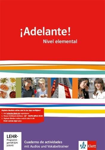 ¡Adelante!. Cuadernos de actividades mit Multimedia-CD. Nivel elemental -