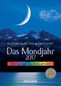 Das Mondjahr 2017. Der farbige Taschenkalender - Johanna Paungger, Thomas Poppe